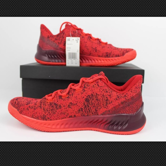 adidas Chaussures James Harden Be X Rouge Maroon Sz 10 Poshmark